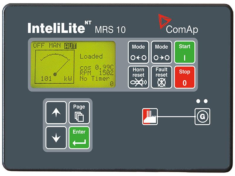 Màn hình điều khiển máy phát điện ComAp IL-NT MRS 10